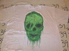 2X- NWOT Green Skull T- Shirt