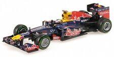 Voitures Formule 1 miniatures bleus 1:18 sur Sebastian Vettel
