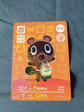 Animal Crossing Amiibo Card 212 Timmy