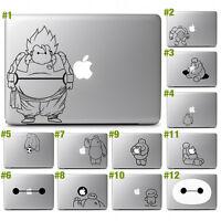 "Big Hero 6 Baymax Vinyl Decal Sticker for 11"" 13"" 15"" 17"" Apple Macbook Air Pro"