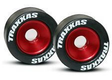 Traxxas Aluminum Wheelie Bar Wheels 5186 *NIP* Red