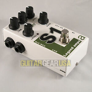 AMT Electronics Guitar Preamp S-1 Pedal (Legend Series) emulates Soldano amps