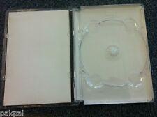 50 New High Quality Super DVD Case, Super Jewel Box King Clear,SF11-ST
