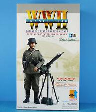 DRAGON FIGURE 1:6 WW2 German Soldier Army Infantry MG08 Machine Gun Gunner 70816