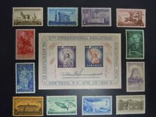 1956 US Commemorative Year Set Complete 1073-1085  MNH