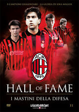 DVD N° 11 I MASTINI DELLA DIFESA AC MILAN HALL OF FAME COSTACURTA TASSOTTI GALLI