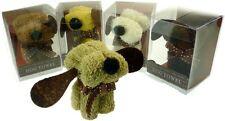 Dapper cane a forma di faccia Asciugamano torta Flanella Lavare Panno cane amanti Regalino
