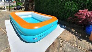 Swimming Paddling Pool Tub Floors Mats Protector Underlay Jigsaw Foam Base Tile