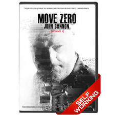 Move Zero Vol 1 by John Bannon - DVD - Selfworking Card Tricks - FREE SHIPPING