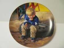 Zolan collector plate *The Thinker* Wonders of youth collection