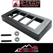 S-Tech 4 Switch Upper Windshield Panel Only for 1997-2006 Jeep Wrangler TJ / LJ