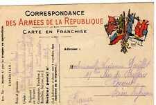 cpa - Correspondance des Armées de la République (#1)