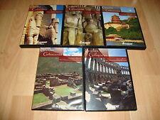GRANDES CIVILIZACIONES SERIE DOCUMENTAL COMPLETA CON 5 DISCOS EN DVD BUEN ESTADO