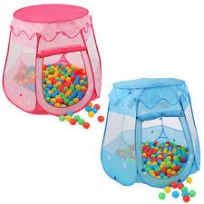 KIDUKU Tienda de campaña juegos  para niños infantil jardin + 100 bolas + bolsa