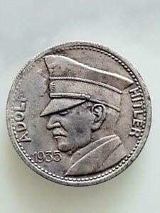 Hitler 5 R.M 1935 Rare coin