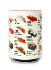 Japanese Sushi Tea Cup Porcelain Coffee Mug Sushi Name Images For Sake Rice wine