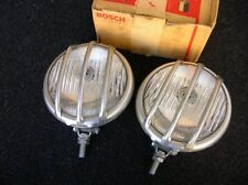 VINTAGE BOSCH STONE GUARD MESH RALLY FOGLIGHTS MERCEDES MB VOLKSWAGEN VW COX NOS