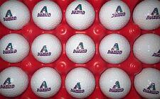 (15) Arizona Diamondbacks Diamond Backs Major League Baseball Logo Golf Balls