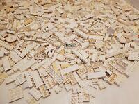 Lego Mixed Lot of White Random Bricks Pieces 3lb