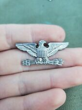 WWII US Army Marine Corps Bird Colonel war eagle NS Meyer Should-R-Form Pin #2