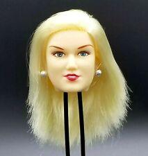 "1:6 Original Cy Girl Sky Female Blond Hair Head 12"" Phicen TBLeague Kumik"