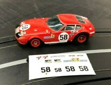 Aurora G PLUS Professionally Printed Decals FERRARI DAYTONA #58