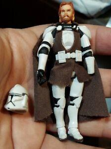 2008 Star Wars  3.75 OBI-WAN KENOBI Clone Trooper Outfit Legacy Collection C111