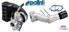 Carburador completo Polini CP Ø24 colector de Admisión Vespa ETS 50 125