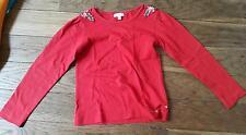 Maillot T-shirt manches longues Rouge 6 ans NAF NAF