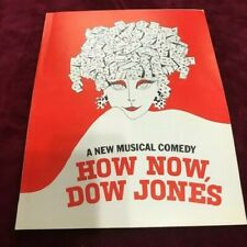 HOW NOW, DOW JONES  John Kenley Prod. Warren, OH  DEAN JONES-JESSICA WALTER used