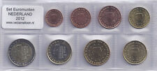 NEDERLAND UNC EURO SET 2012 - serie van 8 munten: 1 cent t/m 2 euro