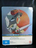 Princess Mononoke Blu-Ray DVD Steelbook Region B New Sealed Miyazaki *Read*