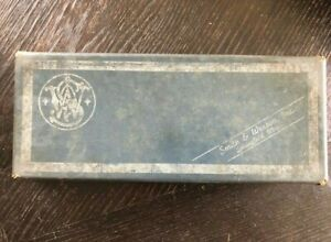VINTAGE 1955 Box for Smith & Wesson 38 MILITARY & POLICE Model 10
