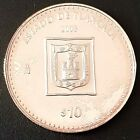 2003 MEXICO $10 PESOS SILVER 1 Oz. Proof ESTADO DE TLAXCALA Nice!