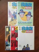 Sleeze Brothers #1 2 3 4 5 Andy Lanning Art Epic/Marvel Comics (Lot of 5) VF/NM