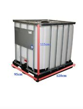 IBC 1000 litre Storage Container Tank (Ex Food Grade)