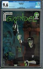 CGC 9.6 GRENDEL #1 1ST SERIES COMICO 1983 ORIGIN HUNTER ROSE MATT WAGNER OW/W PG