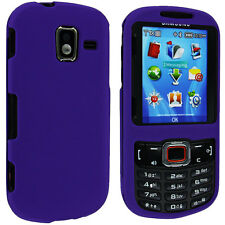 Purple Snap-On Hard Case Cover for Samsung Intensity 3 U485