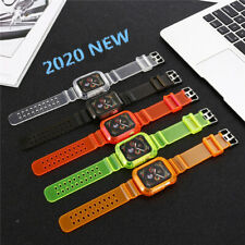 Watch Band Glacier Clear TPU Strap For Apple Watch Series 6/5/4/3/2/1 iWatch SE