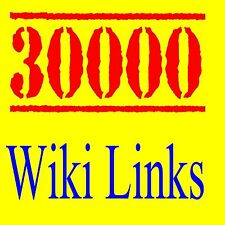 █   █  30,000 Wiki Backlinks to Your Website - High Authority-Google Best SEO  █