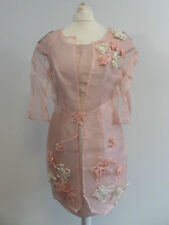 Carla Ruiz Mother Of The Bride Dress Suit - Pale Pink - Size 10-12 - Box6442 D