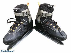 BLADERUNNER ZEPHYR ICE SKATES, GRAY/BLACK MEN'S SIZE 8