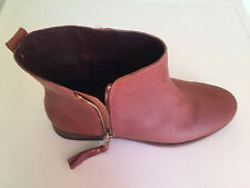 Women Next Tan Leather Ankle Boots UK 5 -6 - 7 Brand New