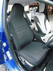 TO FIT A VOLKSWAGEN BORA CAR,TWO FRONT SEAT COVERS, ALPHA 9 DESIGN