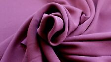 CREPE FABRIC – 100% POLYESTER – AVAILABLE IN 4 COLOURS
