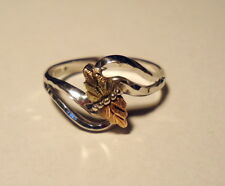 Black Hills Gold & Silver Ring Size 9 1/2