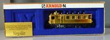 Arnold 2711, N-Spur, Kittel-Dampftriebwagen, NEU  OVP, vergoldet