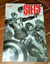 Siege: Captain America #1B, (2010, Marvel): Marko Djurdjevic Cover Art!