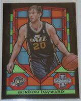 2013/14 Gordon Hayward Jazz Panini Innovation Stained Glass Insert Card #64 Mint
