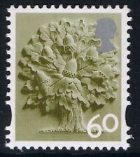 GB QEII Inghilterra SG EN15. 60p Oak Tree. REGIONALE Machin TIMBRO definitivo